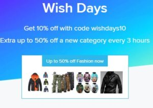 99*)%TOP! Wish Promo Codes 2019| (SEP '19)| Wish com/App